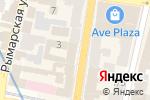 Схема проезда до компании Книгарня Є в Харькове