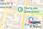 Схема проезда до компании Cosmo в Харькове