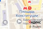 Схема проезда до компании Магазин по продаже школьных рюкзаков в Харькове