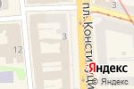 Схема проезда до компании Paradise в Харькове