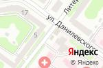 Схема проезда до компании Royal foods в Харькове