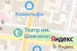 Схема проезда до компании Національний банк України, ДП в Харькове