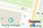 Схема проезда до компании Wall Street в Харькове