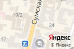 Схема проезда до компании Fashion Bride в Харькове