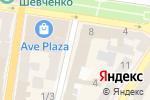 Схема проезда до компании Megatel в Харькове