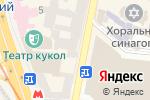 Схема проезда до компании Онис в Харькове