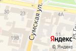 Схема проезда до компании Sweeter в Харькове
