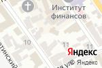 Схема проезда до компании Первая Столица в Харькове