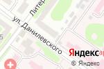 Схема проезда до компании La dolce vita в Харькове