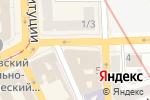 Схема проезда до компании Street Art в Харькове