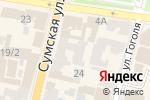 Схема проезда до компании Unisport в Харькове