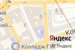 Схема проезда до компании КвитЭя в Харькове