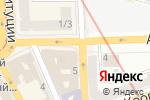 Схема проезда до компании Риэлти-Тур в Харькове