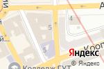 Схема проезда до компании За рулем в Харькове