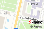 Схема проезда до компании Тануки в Харькове