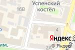 Схема проезда до компании Нотариус Гибадулова Л.А. в Харькове