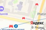 Схема проезда до компании Центр международных перевозок и туризма в Харькове