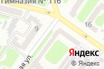 Схема проезда до компании Нотариус Гнилицкая Т.В. в Харькове