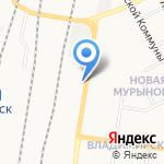 Администрация Железнодорожного округа г. Курска на карте Курска