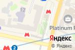 Схема проезда до компании CyproGroup в Харькове