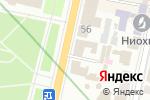 Схема проезда до компании UBD в Харькове