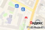 Схема проезда до компании Coffee life в Харькове