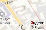 Схема проезда до компании EvoTex в Харькове