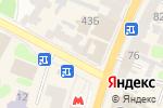 Схема проезда до компании Східці в Харькове