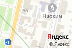 Схема проезда до компании UniLang в Харькове