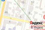 Схема проезда до компании Компания по трудоустройству за рубежом в Харькове