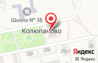 Схема проезда до компании Культурно-досуговое объединение в Колюпаново
