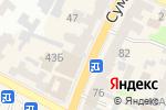 Схема проезда до компании La visione в Харькове