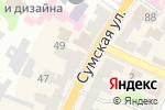 Схема проезда до компании Колибри travel в Харькове