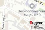 Схема проезда до компании ИТС в Харькове