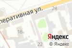 Схема проезда до компании Моя Планета в Харькове