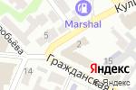 Схема проезда до компании Гравитация в Харькове