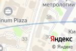 Схема проезда до компании Iris в Харькове
