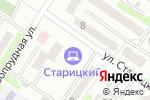 Схема проезда до компании Kapriz в Харькове