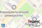 Схема проезда до компании Нотариус Погребняк Н.В. в Харькове