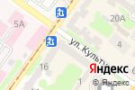 Схема проезда до компании Fiori в Харькове