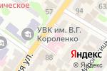 Схема проезда до компании Эввива в Харькове
