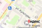 Схема проезда до компании Viyas deluxe в Харькове