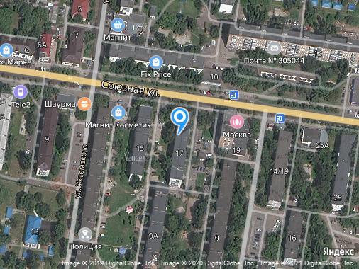 Сдаем 1-комнатную квартиру, 33 м², Курск, Союзная улица