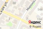 Схема проезда до компании Crea concept в Харькове