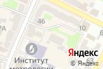 Схема проезда до компании La rouge в Харькове