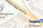 Схема проезда до компании Фокстрот в Харькове