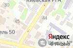Схема проезда до компании Меркурий в Харькове