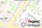 Схема проезда до компании Cute fruit в Харькове