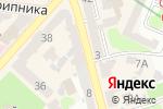 Схема проезда до компании Мохито-тур в Харькове