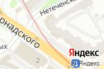 Схема проезда до компании Наш Сервис в Харькове
